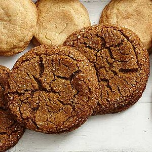 Gluten-Free Giant Ginger Cookies