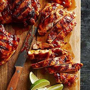 Chipotle-Maple Chicken Thighs