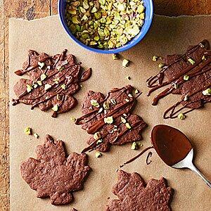 Spiced Chocolate-Pistachio Cookies