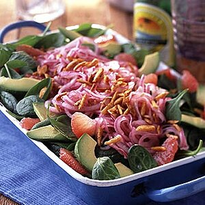 Grapefruit and Pickled Red Onion Salad
