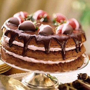 Amazing Chocolate-Pecan Torte