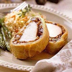 Pork Tenderloin Wrapped in Puff Pastry