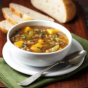 Butternut Squash, Lentil and Wild Rice Stew
