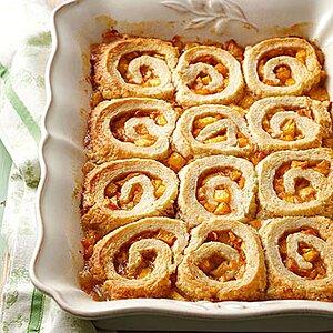 Granny Rendleman's Peach Pinwheel Dumplings