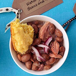 Warm-You-Up Beans and Ham