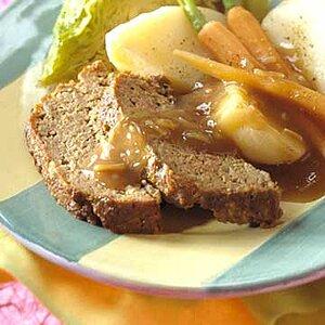 Slimmer, Trimmer Meat Loaf