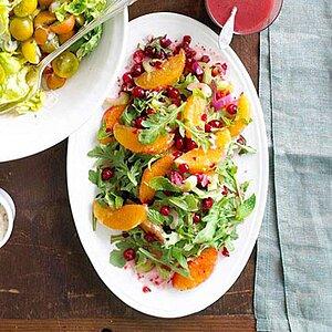 Fresh Citrus and Cranberry Salad