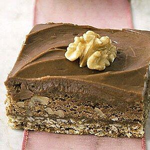 Chocolate-Oatmeal Trilevel Brownies