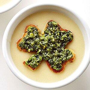 Smoky Cheese & Potato Soup