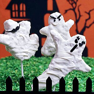 White-as-a-Ghost Rice Cereal Pops