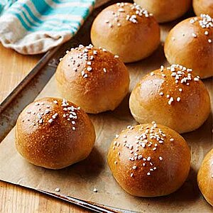 Orange-Spice Challah Buns