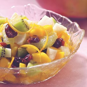 Tropical Fruit in Spiced Syrup