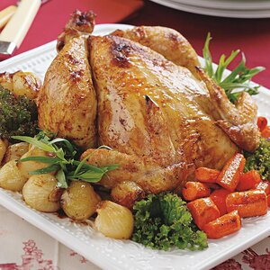 Two Simple Herb-Roasted Chickens