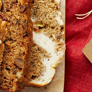 Cheesecake Chai-Spiced Banana Bread
