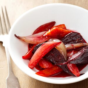 Maple-Orange Roasted Carrots and Beets