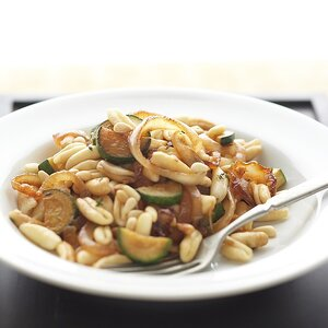 Caramelized Onions and Cavatelli