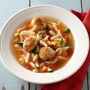 Turkey Meatball Minestrone