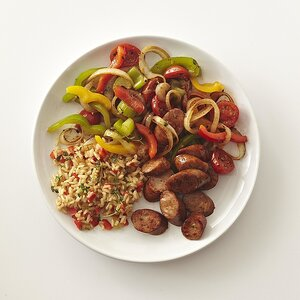 Chicken Sausage and Dirty Rice