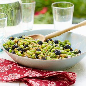 Wheat Berry and Fava Bean Salad