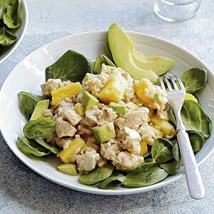 Chicken, Pineapple, Avocado and Rice Salad