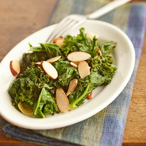 Garlicky Wilted Greens