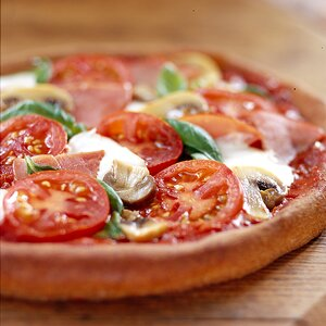 Whole-Wheat Pizza with the Works