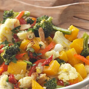 Roasted Vegetables with Gremolata