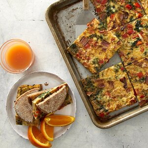 Sheet-Pan Egg Sandwiches for a Crowd