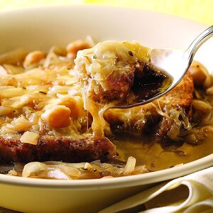 Quick French Onion Soup for Two