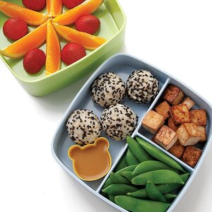 Soy-Lime Tofu & Rice Bento Lunch