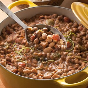Pinto Bean & Andouille Sausage Stew