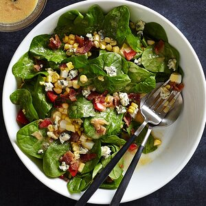 Blue Cheese & Spinach Salad