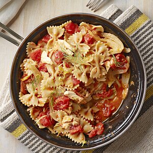Farfalle with Tuna, Lemon, and Fennel