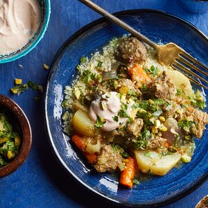 Lamb Tagine with Preserved Lemon