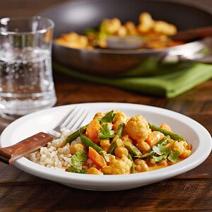 Gingered Vegetable Curry