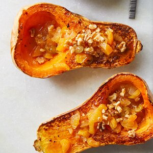 Roasted Honeynut Squash with Spicy Agrodolce