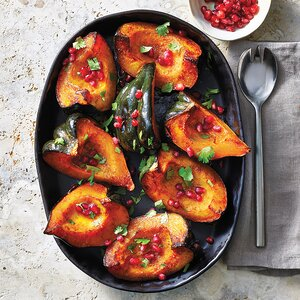 Slow-Cooker Spice-Drizzled Acorn Squash