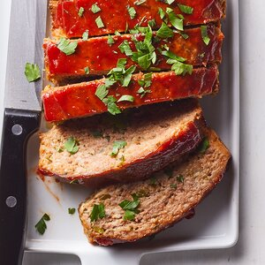 Sausage-Spiked Meatloaves
