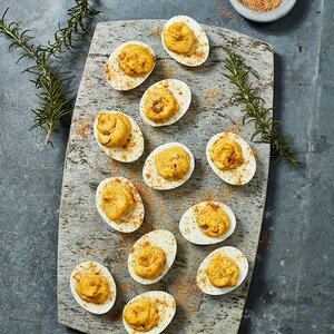 Rosemary Deviled Eggs