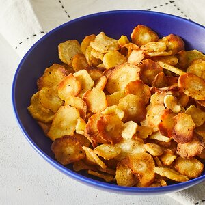 Baked Parsnip Chips