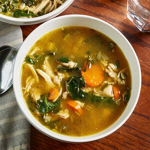 Low-Carb Chicken Soup