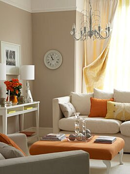 Gorgeous Orange Rooms Plus Paint And Furniture Picks Real Simple