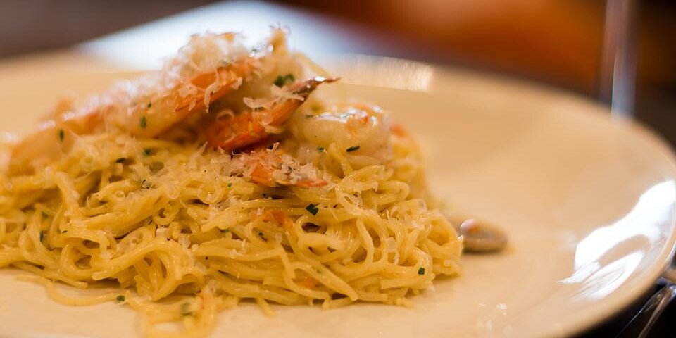 champagne shrimp and pasta recipe