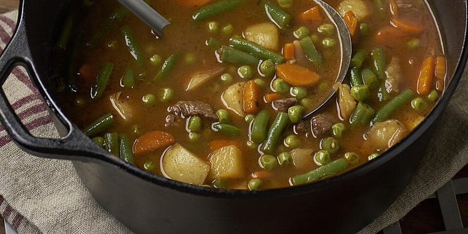 beef and vegetable soup recipe