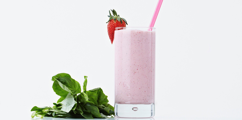 strawberry basil milkshake recipe