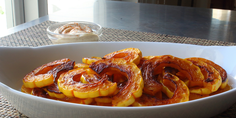 roasted delicata squash recipe