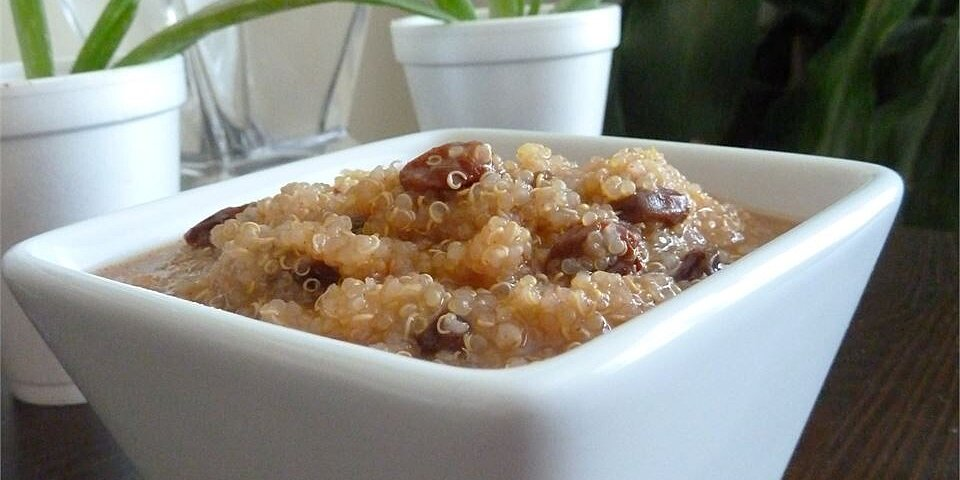 quinoa breakfast pudding recipe