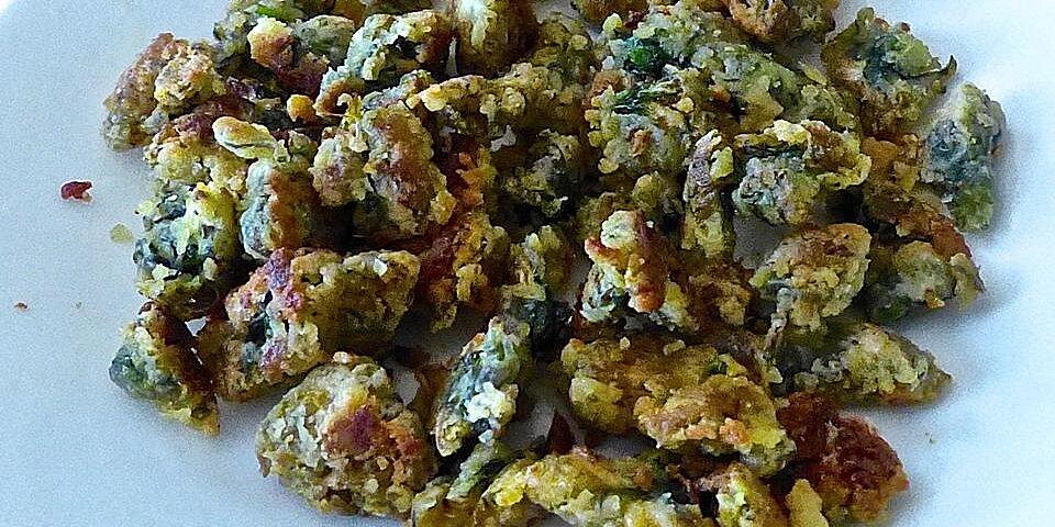 fried dandelions appalachian style recipe