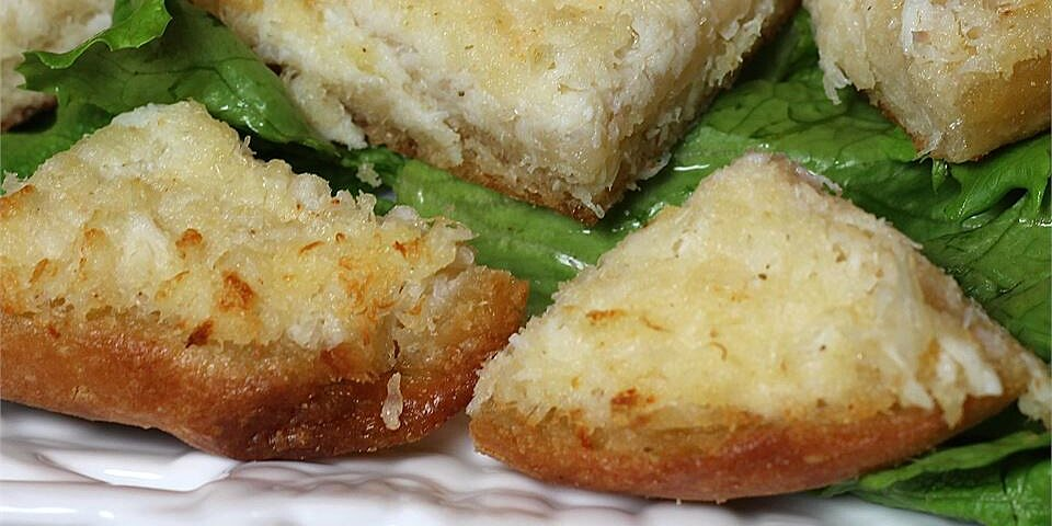 crabmeat toasts recipe