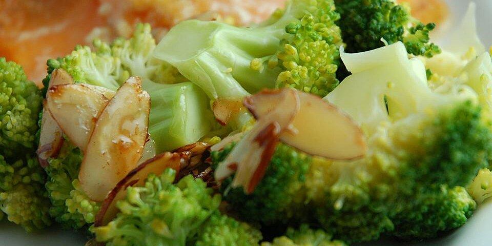 broccoli with lemon almond butter recipe